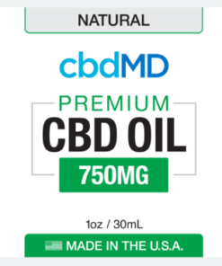 CBD Oil NO THC 750mg