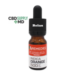 500mg Orange Flavor Sublingual Drops Full Spectrum Relaxing