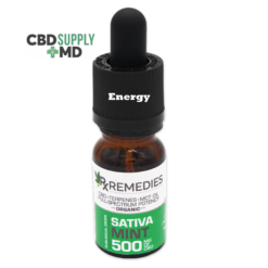 500mg CBD Oil Mint Sativa Energizing