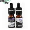 CBD Oil 2 Bottle Day Night Deal NO THC Plain Flavor
