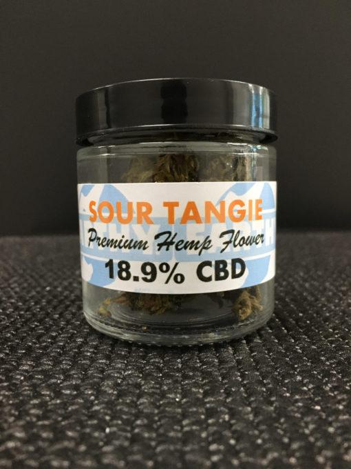 3.5 Grams Sour Tangie CBD Flower