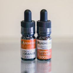 500mg Orange Sativa & Indica 2 Bottle Bundle