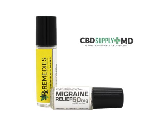 CBD Migraine Relief Roll On 50mg