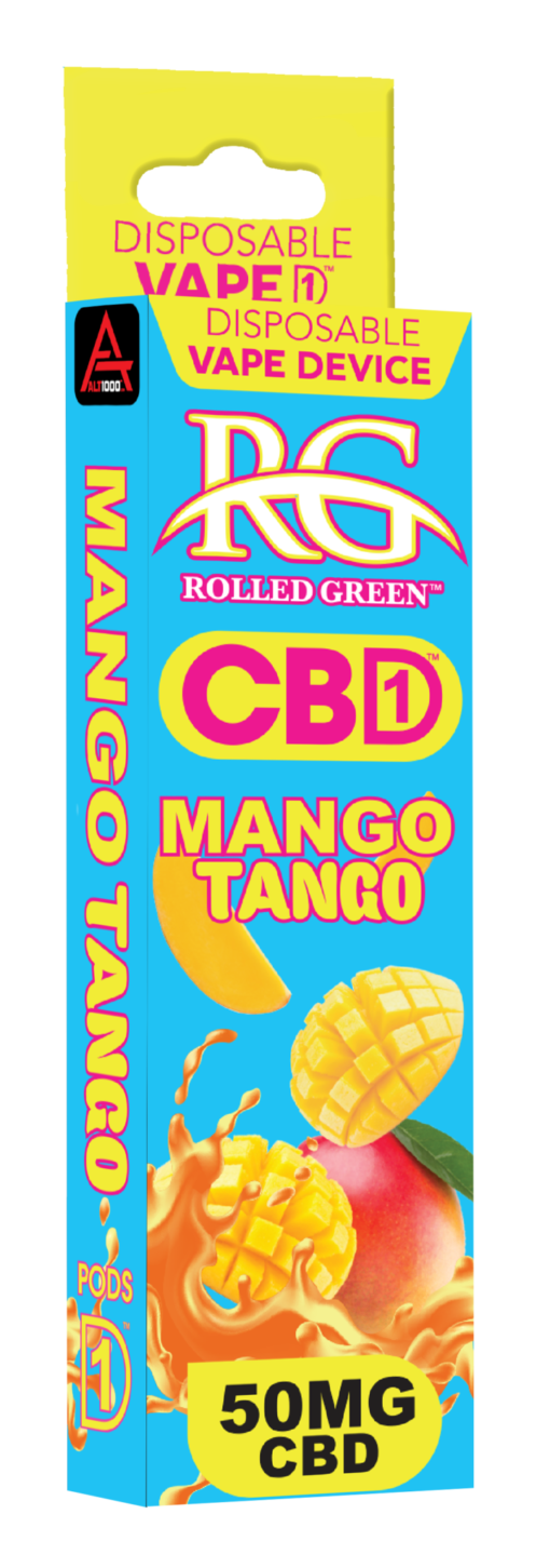 MANGO TANGO - 50MG - DISPOSABLE VAPE DEVICE