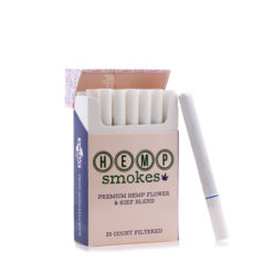 Hemp Cigarettes High CBD Hemp Flower and Kief Blend 1 Pack