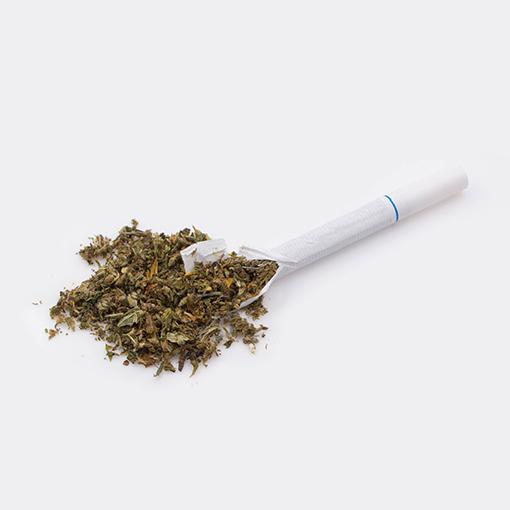 Hemp Cigarettes High CBD Hemp Flower and Kief Blend 1 Pack