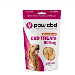 Pet CBD Oil Treats for Dogs - Baked Cheese - 600 mg - 30 Count