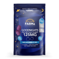 FARMa Edibles – GoodNights – 125mg -Melatonin