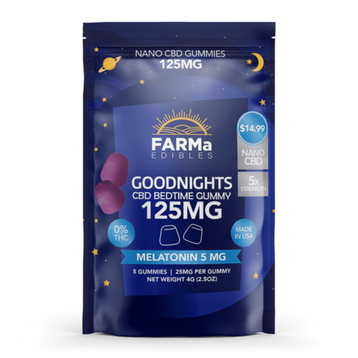 FARMa Edibles – GoodNights – 125mg -Melatonin