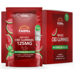 FARMa Edibles – Berry Wedges 10ct. – 125mg bag
