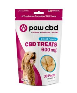 Pet CBD Oil Treats for Dogs - Sweet Potato - 600 mg - 30 Count