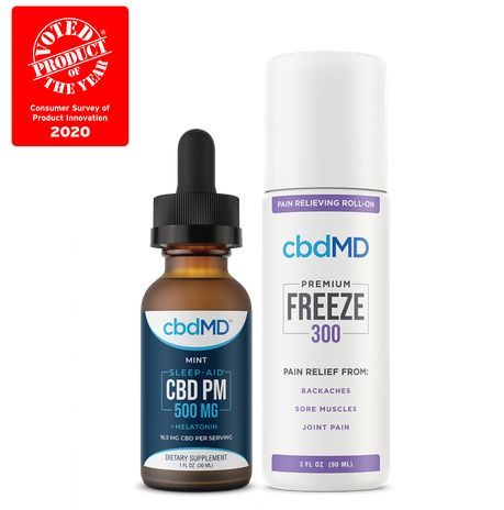 CBD Bundle - Product of the Year - 2 Pack