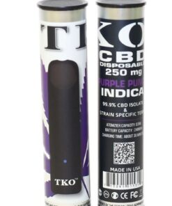 250mg CBD Vape Disposable Purple Punch Indica