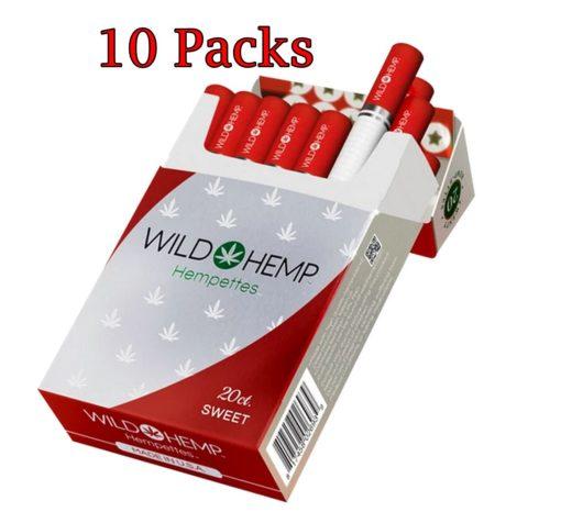 CBD Hempettes Sweet Flavor 1 Carton 10 Packs