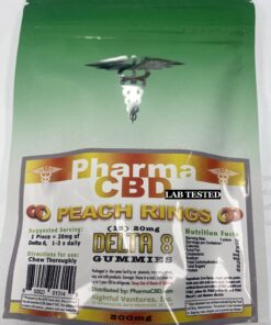 Hemp Derived Delta-8 THC Peach Ring